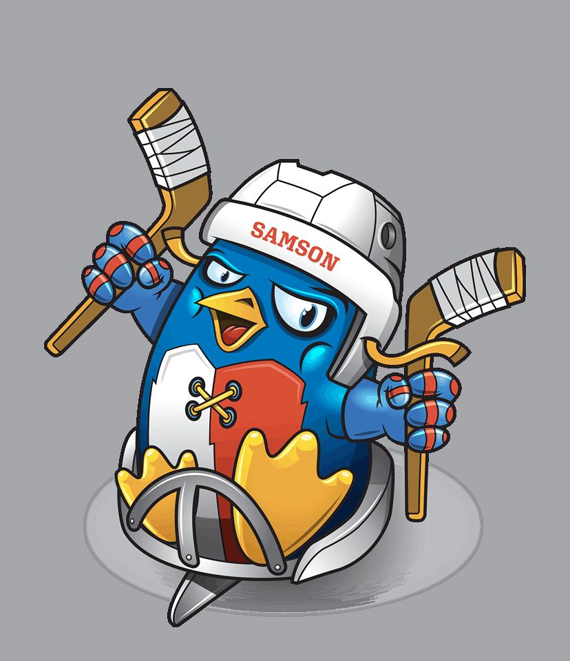 Samson - Maskot českého para hokeje