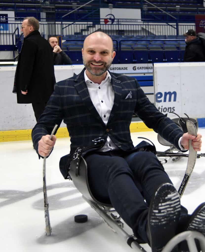 Jiří Šindler člen výkonného výboru Českého hokeje