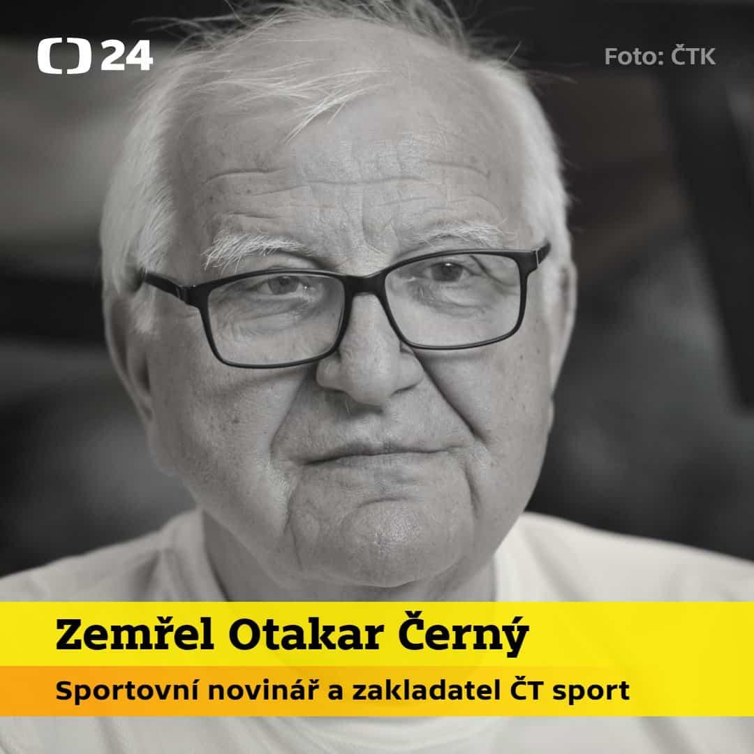 Zemřel Otakar Černý